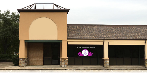 Dallas Meditation Center front view