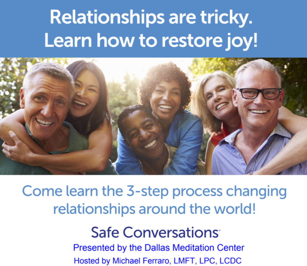 Safe Conversations Workshop